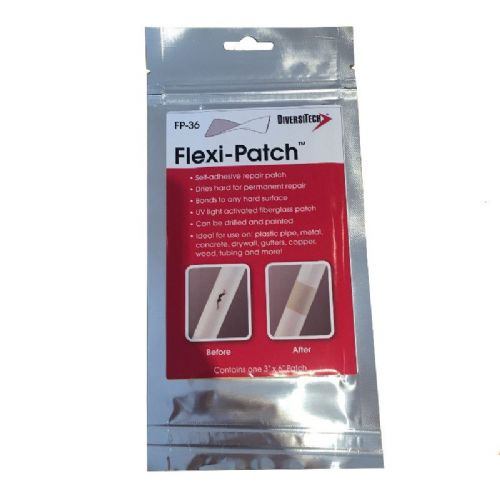 "Flexi-Patch Self Adhesive Repair Patch 3"" x 6"""